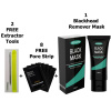 1 Charcoal Mask, 2 Blackhead Removal Tools, 8 Pore Strips, Great For Removing Blackheads Acne On Face Nose Etc