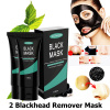 Charcoal Mask (2 Blackhead Removal Peel Off Mask) Best Blackhead Mask for Removing Blackheads Acne on Nose Face